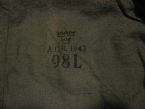 Army jacket and accessories...is any of it genuine?