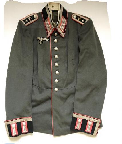 Panzer Wachtmeister Waffenrock