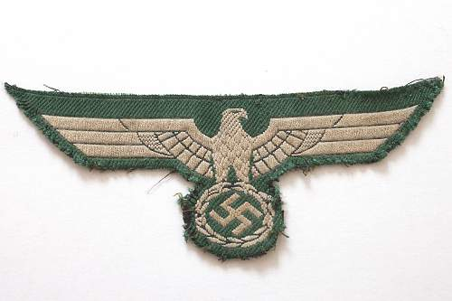 Cloth Eagle Authentic?