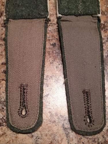 Heer infantry EM shoulder straps