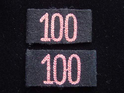 Click image for larger version.  Name:Panzer Regt 100 slip on titles.jpg Views:158 Size:151.9 KB ID:5942