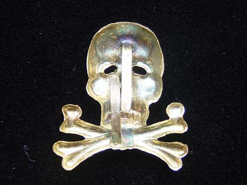 17th Infanterie Regt traditions cap badge