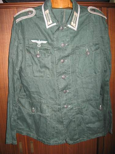 Drillich jacket and pants?