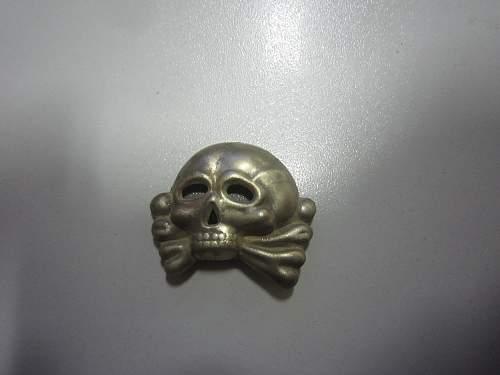 Totenkopf skull real / fake ? a DUG UP