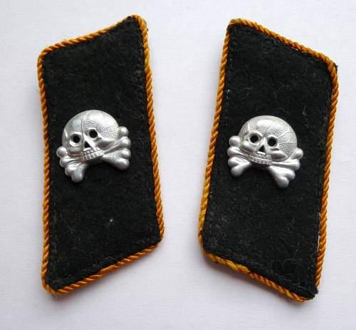 Panzer collar tabs