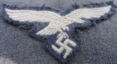 Luftwaffe Vet acquired Pow Tunic