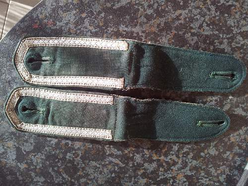 Early shoulder boards, opinions?