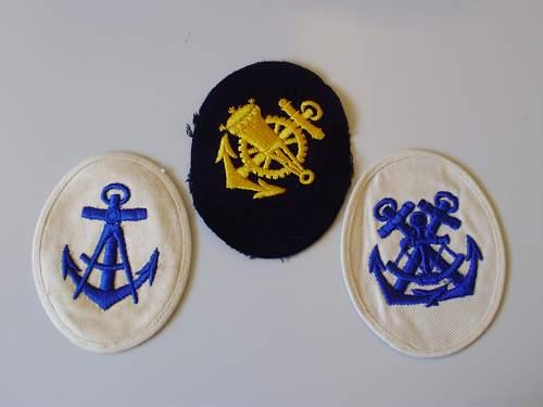 Kriegsmarine Patches - WWII ?