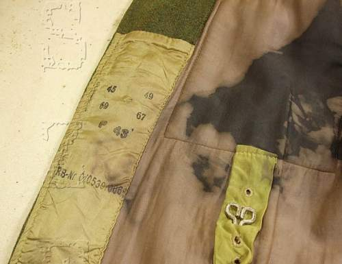 M43 feldbluse - newly made and aged - a trap for young players!