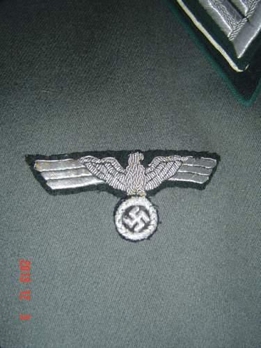 Admin Waffenrock