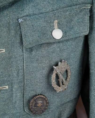 Wwii german heer mountain division uniform