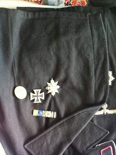 Is panzer uniform authentic?