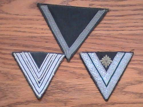 German Chevrons