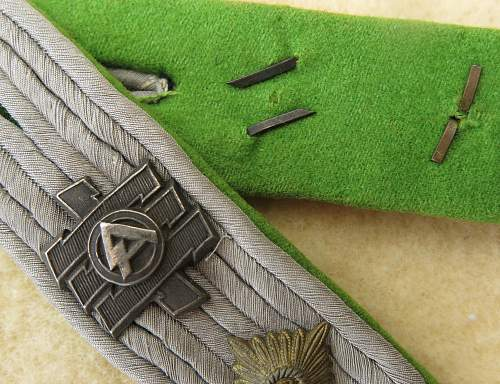 Oblt Feldherrnhalle shoulder straps
