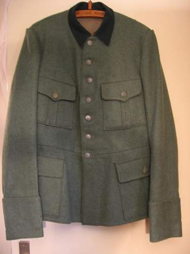 Dutch tunic converted to German: good or not~?