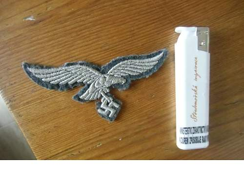 luftwaffe nco breast eagle