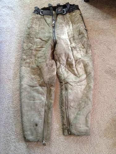 Luft Sheepskin Winter flying pants
