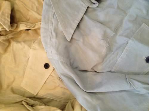 Luft working dress shirts, three of them, winter, summer & tropical.