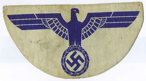 Unknown German Patch Offered to Me