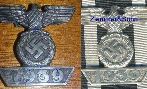 Old box of Nazi insignia and medals from my Grandfather.