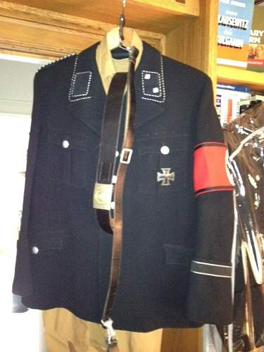 Named Holters Signal Officers Tunic