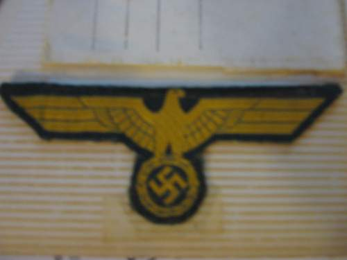 WWII German POW Letters, Patches - Help to Identify these?