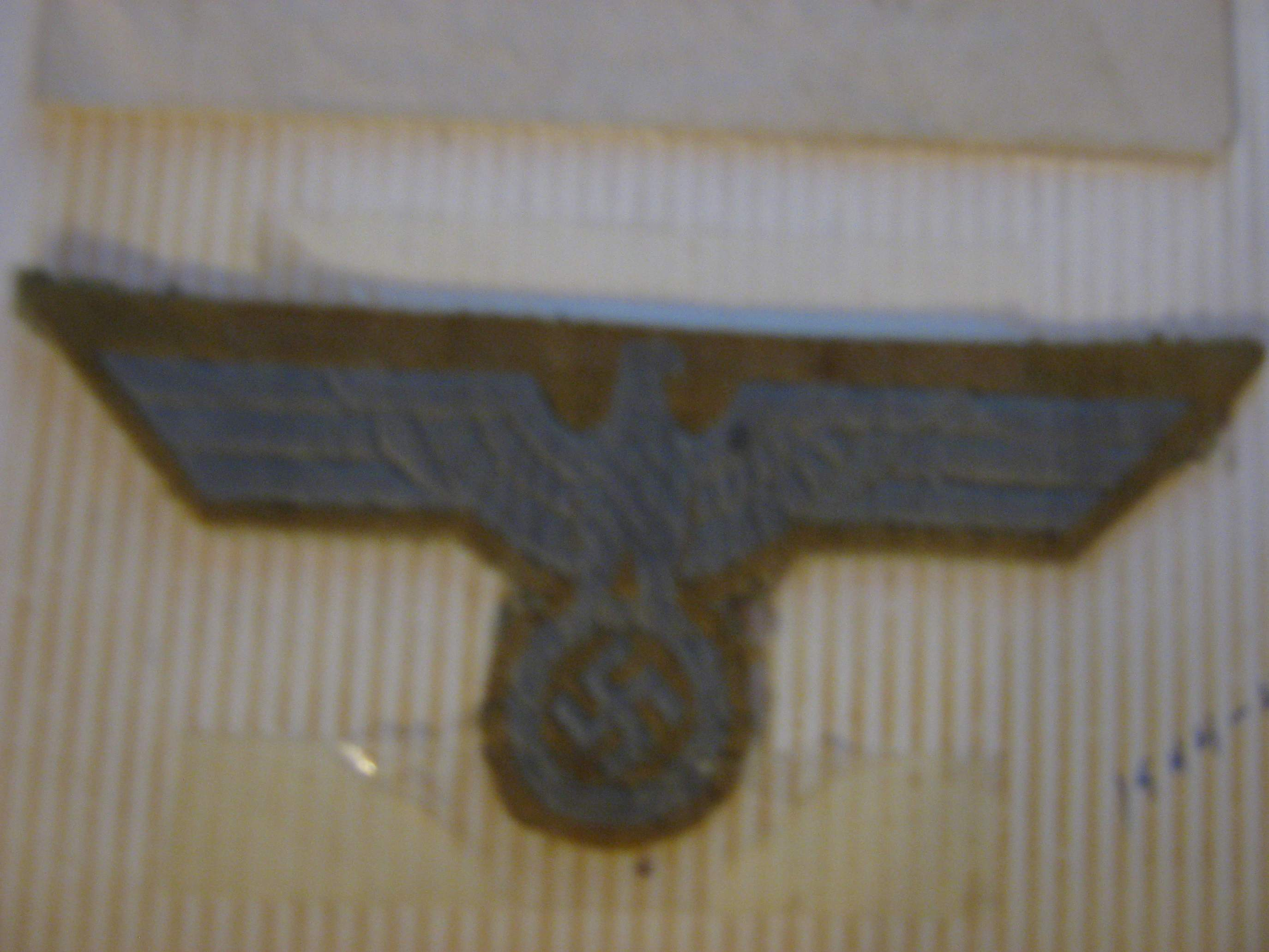 Wwii german patch identification