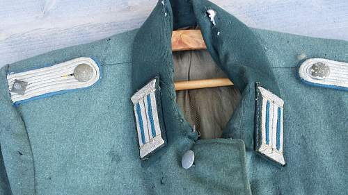 Salty officers tunic opinions