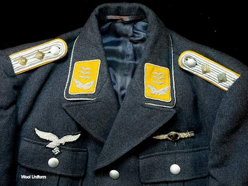 2 Luft Officers Flight Tunics