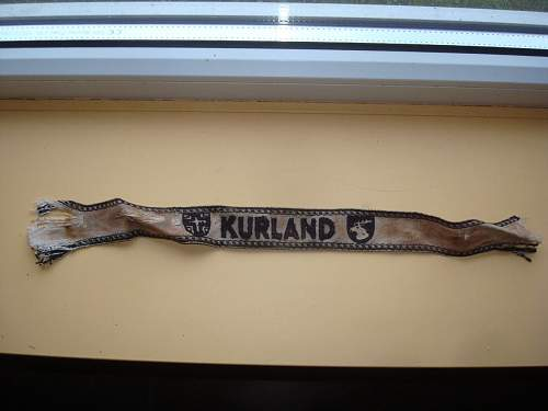 Kurland cufftitle original or not?