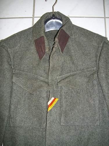 HELP NEEDED - unknown uniform jacket