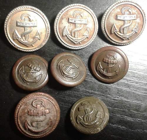 Abour Kriegsmarine buttons