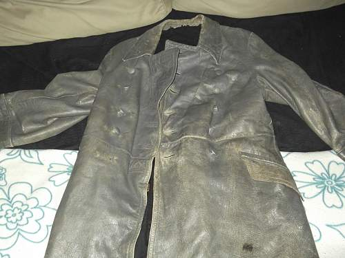 German leather coat arrived today