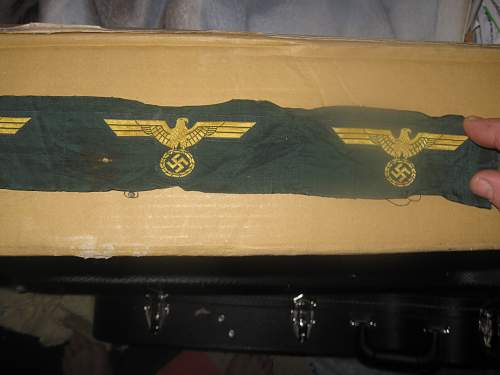 Green possible arm band