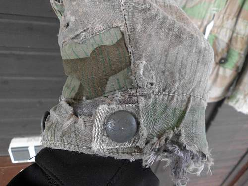 Tarnjacke, camouflage coat/parka: Authentic?