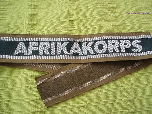 Afrika korps Title Opinions?