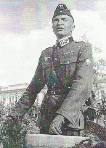 Russian Volunteer Colonel's Collar Tabs