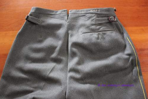 Dress Trousers for Signals
