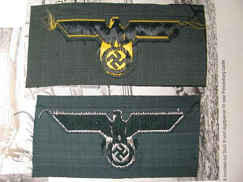 """Two """"new"""" breast eagles- good ones?"""