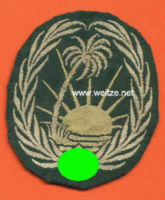 Afrika Korps Sonderverband 288 sleeve patch...I have my doubts.