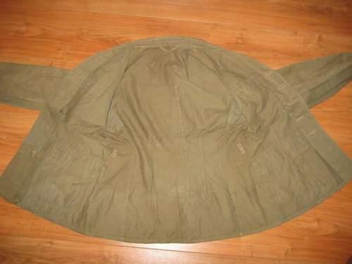 Drillich ww2 post war jacket?