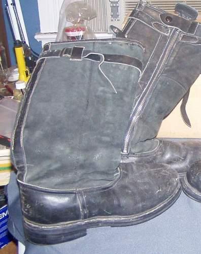 Luftwaffe flight boots