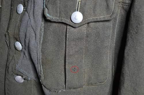 Possible Grossdeutschland tunic?