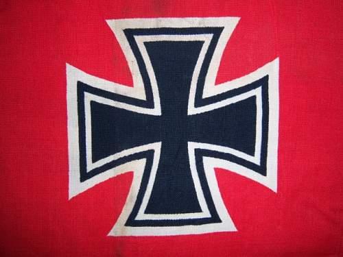 German War Flag....finally....