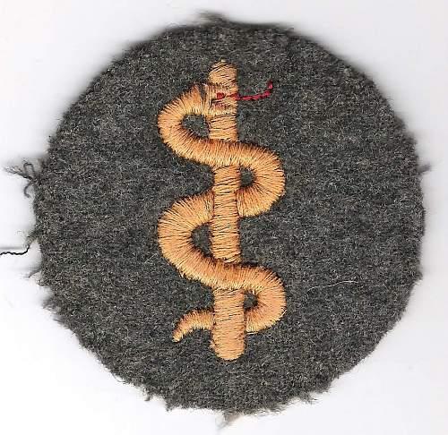 Medic Cloth Badge