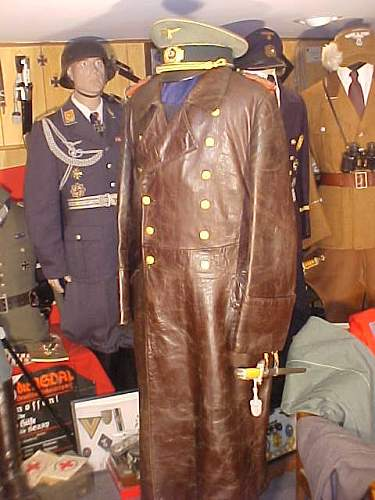General Officers Leather Coat