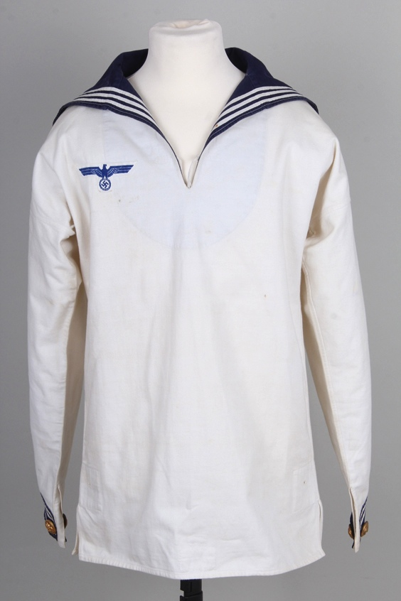 Question Kriegsmarine White Service Uniform.