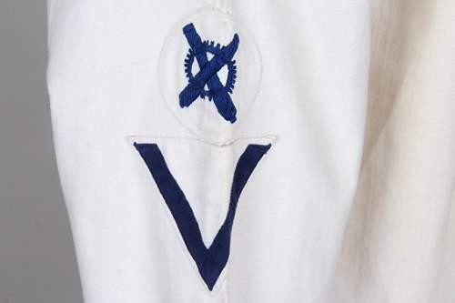 Kriegsmarine White Service Uniform.