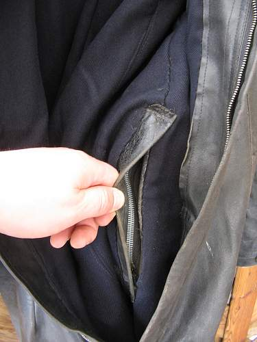 heavy Kriegsmarine Leather suit