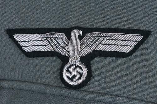 Panzer tunic.